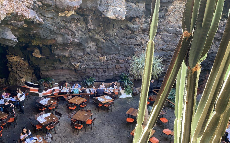 Lanzarote - Jameos del Agua - Alla Palma Azzurra
