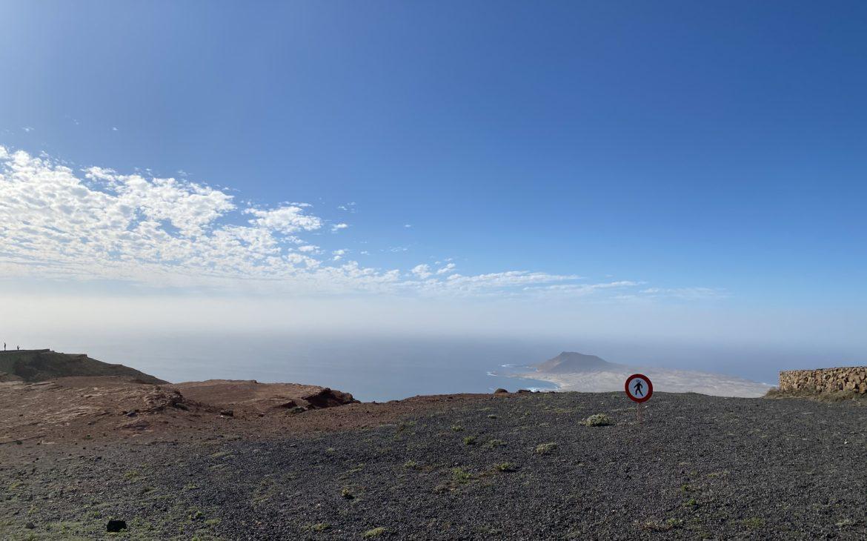 Lanzarote - Mirador del Rio -Alla Palma Azzurra